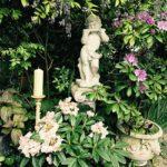 Der Engel in unserem Garten